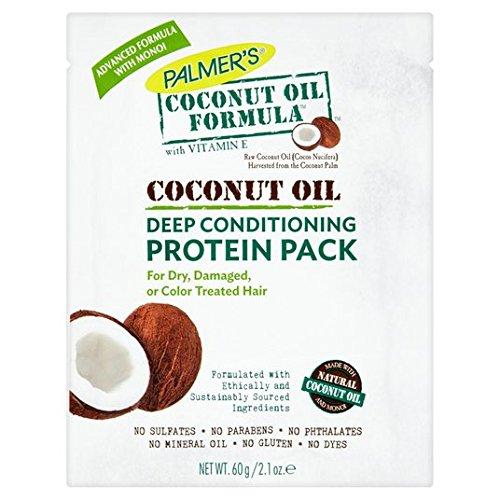 Formule huile de coco revitalisant en profondeur Protein Paquet de 60g de Palmer