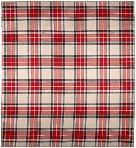 Pendleton Eco Wise Washable Wool Blanket Vintage Dress Stewart Queen product image