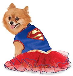 Supergirls Costumes For Dogs