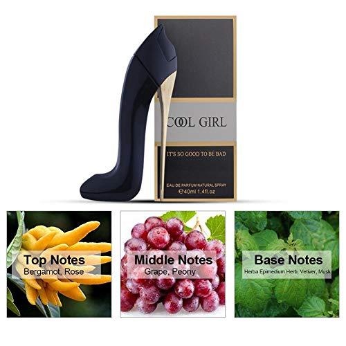 Zapatos de tacón alto Design Lady Perfume 40ml Perfume de larga duración Fruit Essense para mujer para Comestic