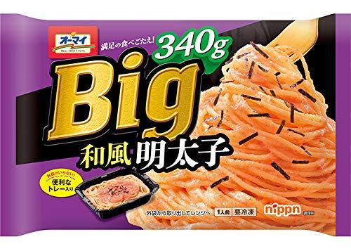 【冷凍】日本製粉 オーマイ Big 和風明太子 340gX6袋