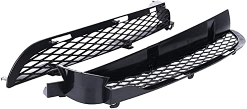 Boger 51117116397/51117116398 Left+Right Side 1 Pair 51117116397 Front Bumper Front Lower Bumper Grille Replacement for BMW X5 E53 04-06