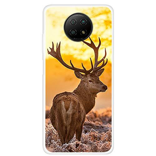 Sundekun [SCH3 caso para xiaomi redmi nota 9 5G teléfono caso, xiaomi redmi nota 9 5G teléfono caso cubierta 7