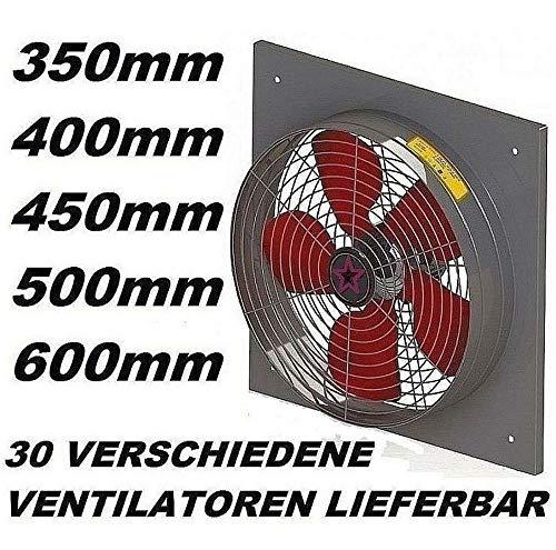 400mm Ventilador Industrial 4500m3/h Ventilación Extractor ...