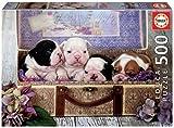 Educa - Cachorros Puzzle, 500 Piezas, Multicolor (19007)