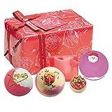 Cosméticos bomba Gift Set (Badepralinen y jabón) Santa Baby, 1er Pack (1 x 500g)
