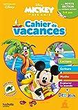 Disney - Mickey - Cahier de vacances, de la petite section à la moyenne section