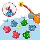 BBLIKE Juguetes de baño Juguete de Baño Juego de Pesca con ...