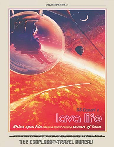 NASA Lavalife Themed Space Exploration Logbook and Journal for Physics, Astronomy, and Science Students: 55 Cancri e - A Workbook for Science and ... Galaxy Nerds (Space Travel Posters, Band 1)