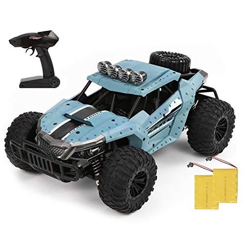 Ferngesteuertes Auto 2.4Ghz 1/16 RC Auto Geländewagen 60m Fernbedienung RC Offroad Auto 25km / h High-Speed Race Buggy Auto Wiederaufladbares Spielgeschenk für Kinder im Innen- und Aussenbereich