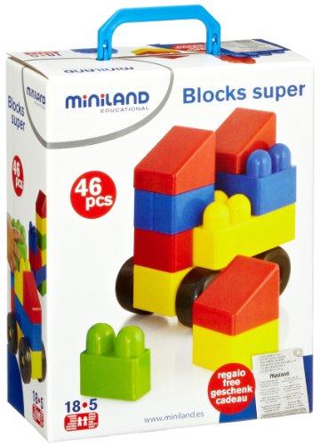Miniland 32320 – Jeu de Construction (46 pièces)