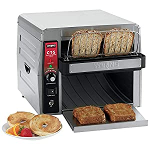 Waring Commercial CTS1000 Coneyer Toaster, 450 Slices per hour, 120V, 1800W, 5-15 Phase Plug