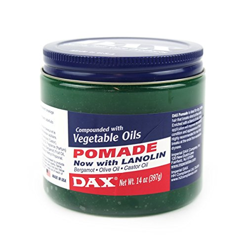 Dax Pomade With Lanolin With Vegetable Oils - 400g