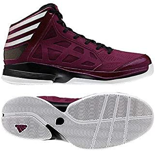 adidas New Crazy Shadow Maroon/Black Size 9 Basketball Shoes