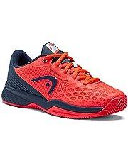 HEAD Revolt Pro 3.5 Clay Junior NRDB, tennisschoen, rood/blauw, 32 EU
