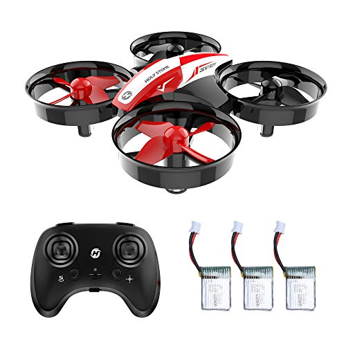 Holy Stone Mini Drone RC Quadcopter No Fotocamera HS210 Droni per Bambini e Principianti RC Helicopter Plane con Auto Hovering, 3D Flip, modalità Headless e Batterie Extra Giocattoli per Bambini