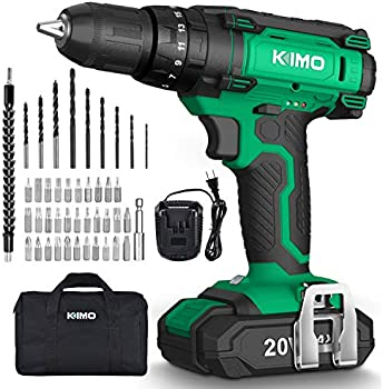 KIMO 20V Impact Cordless Drill Driver Kit