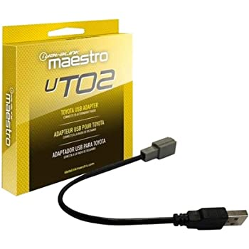 Maestro Acc-USB-TO2 Factory USB to Male USB Adaptor for TO2 Vehicles