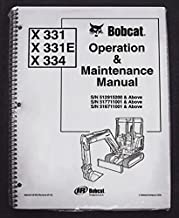 bobcat 331 repair manual