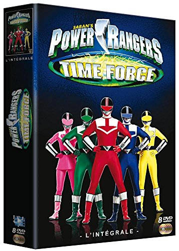 Le coffret DVD Power Rangers Time Force l'intégrale