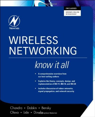 Wireless Networking: Know It All (Newnes Know It All) (English Edition)