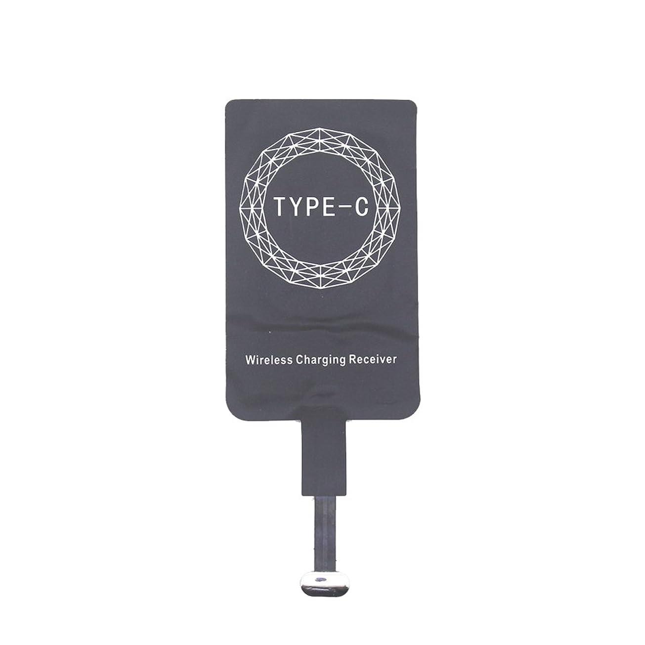 請求添付多様体sundengy ワイヤレス充電器 新しいタイプ - C USB 3.1ワイヤレスレシーバーコイルチーワイヤレス充電レシーバー