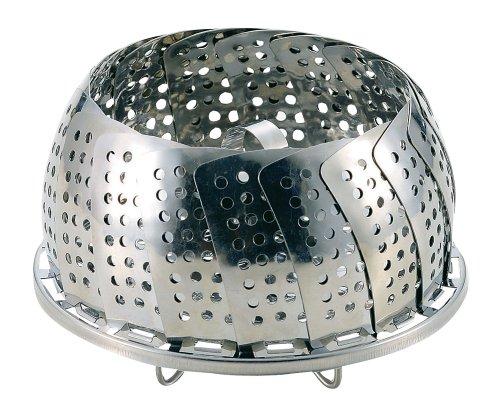 パール金属 便利小物 万能蒸し器 (折りたたみ足式) C-3784