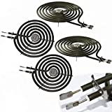 Stove Burner Surface Element Kit, WB30M1 WB30M2 Replacement Range Stove Top Surface Element Burner Kit Compatible for GE, Compatible for Hotpoint, Compatible for Sears and Compatible for Kenmore Stove