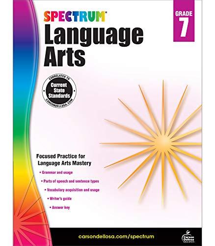 Spectrum | Language Arts Workbook | 7th Grade