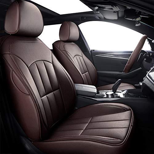 Ajuste personalizado Delantera y trasera PU Especial Cubre asiento de cuero del coche for Mitsubishi ASX Lancer EX DEPORTES Zinger FORTIS Outlander Accesorios for automóviles Accesorios de interior