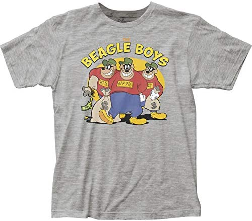 El Beagle Niños Ducktales Donald Duck Universo Caracteres dinero Penal camiseta gris