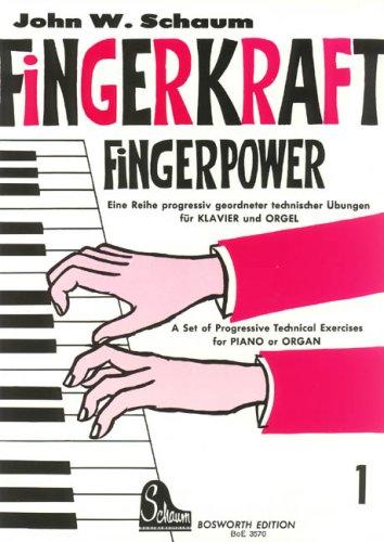 Fingerkraft 1. Klavier