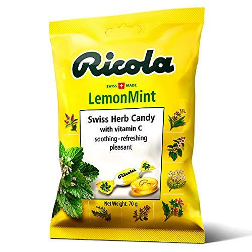 リコラ レモンミントハーブキャンディー 70g×96個入り (1ケース)