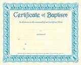 Baptism Certificate (Pk of 6) - Parchment
