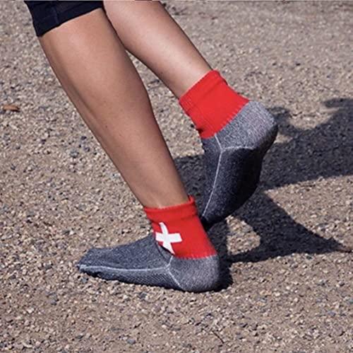 YTYC El Calzado más Minimalista del Mundo, Libera Tus pies, Hombres y Mujeres Descalzos Playa Interior y Exterior Escalada en Roca Deportes Protectores Calcetines de Cinco Dedos (M,Black)