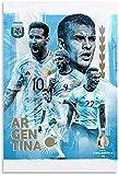 TANXM Leinwand Bilder 30x50cm Kein Rahmen Fußball Poster