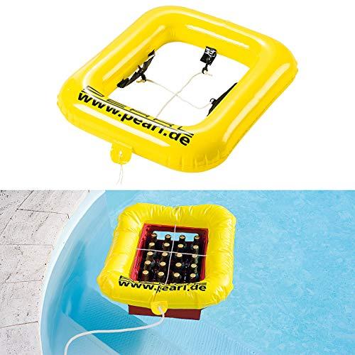 PEARL Bierkasten Schwimmring: Getränkekasten-Schwimmring (Bierkasten Schwimmer)