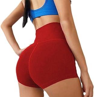 S-Fly Women Yoga Control Tummy Workout Gym Shorts High Waist Sport Butt Lift Shorts