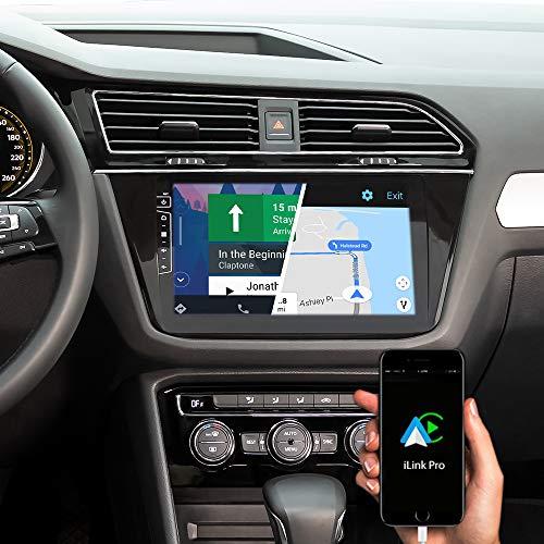DYNAVIN Autoradio Navi für VW Tiguan ab 2016, 10,1 Zoll OEM Radio mit Bluetooth, Inkl. DAB+, USB, Kompatibel mit Carplay und Android Auto: DX-V-82 Flex