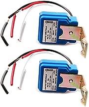 2 Pack - AC DC 12V 10A Auto On Off Photocell Light Switch Photoswitch Light Sensor Switch