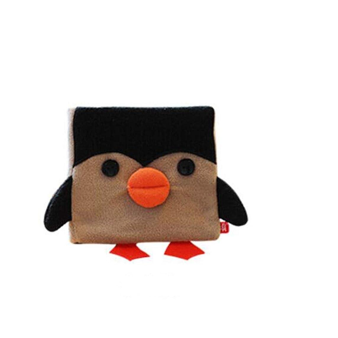 プール州スモッグXIONGHAIZI ポータブルかわいい癒しのノートブック、かわいいペットシリーズ、ハンドブック、クラフト紙、日記、ポータブル、父の日の贈り物、中国のバレンタインデーの贈り物、学校の贈り物、クリスマスプレゼント、Little Penguin Version (Color : Multi-colored)