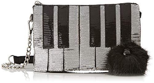 Kipling Damen Bag Umhängetasche, Mehrfarbig (Sparkling Piano), 24x16x1.5 cm