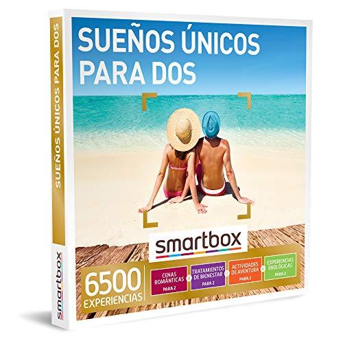 Smartbox - Caja Regalo Amor para Parejas - Sueños únicos para Dos - Ideas Regalos Originales - 1 Experiencia de gastronomía, Bienestar, Aventura o enología para 2 Personas