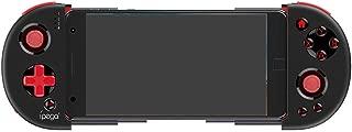 Whatsko ゲームパッド ステレスコピック ワイヤレBluetooth 4.0 スマホ タブレット用ゲームコントローラー 荒野行動 (ブラック)
