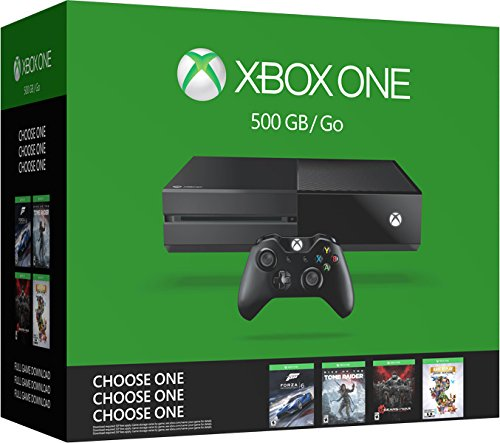 Xbox One 500Gb Console Bundle - Choose One Of Four Games: Forza 6, Rise Of The Tomb Raider, Gears Of War: Ue Or Rare Replay [Importación Inglesa]: Amazon.es: Videojuegos