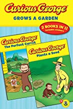 Curious George Grows a Garden (2 Books in 1)