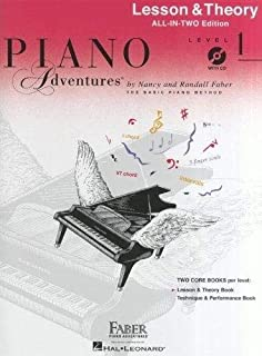 Piano Adventures All-in-Two Level 1 Les & Th. + CD: Lesson & Theory - Anglicised Edition