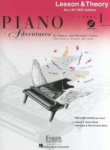 Piano Adventures: Lesson and Theory Book - Level 1 (Book/CD): Lesson &...