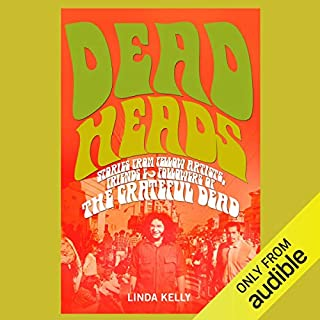 Deadheads audiobook cover art