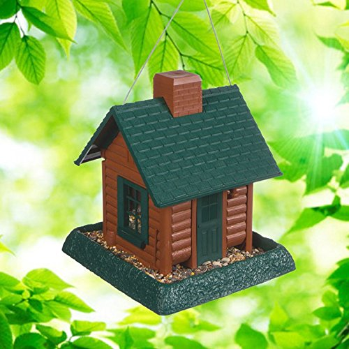 Spy-MAX Battery Powered Non Functional Bird House Hidden Camera DVR - Watch Live or SD Recordings - Motion Activated - Remote Viewing - SD Storage - Best Recorder for Home, Kids, Nanny, Office